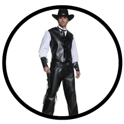 Western Revolverheld Kostüm - Klicken für grössere Ansicht