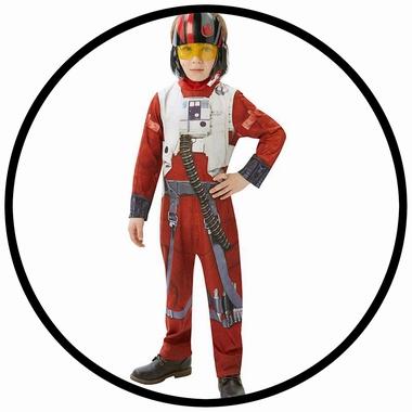 X-WING Fighter Kinder Kostüm Classic EP7 - Star Wars - Klicken für grössere Ansicht