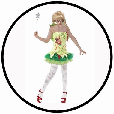 Zombie Fee Kostüm - Klicken für grössere Ansicht