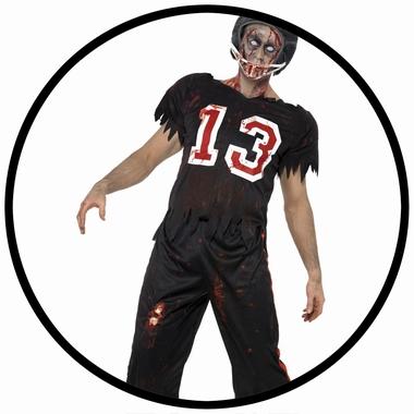Zombie Football Spieler Kostüm - Klicken für grössere Ansicht