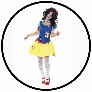 Zombie Schneewittchen Kostüm - Klicken für grössere Ansicht