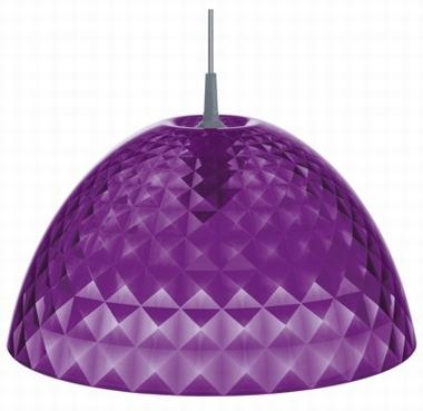 Pendelleuchte Stella M - Koziol - transparent violett