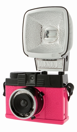 Lomography Diana Mini Flash Kamera - Pink - En Rose