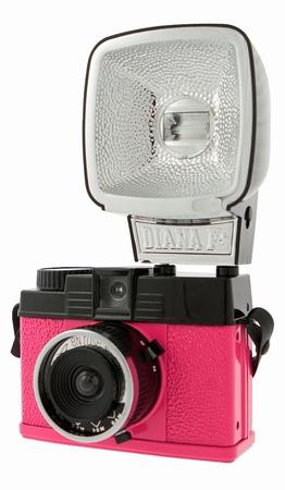 Lomography Diana Mini Flash Kamera - Pink - En Rose