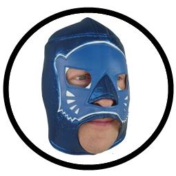 Lucha Libre Maske - Blue Panther - Klicken für grössere Ansicht