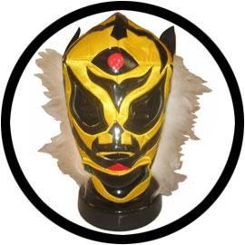 Lucha Libre Maske - Black Tiger - Klicken für grössere Ansicht