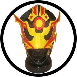 Lucha Libre Maske - ULTIMO GUERRERO - Klicken f�r gr�ssere Ansicht