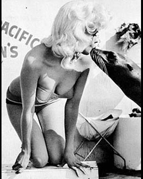 Jayne Mansfield - Kiss the seal