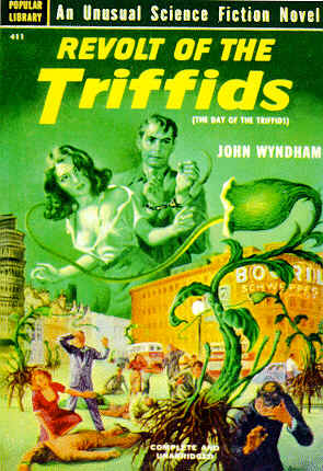 Pulp Fiction Covers - Revolt of the Triffids