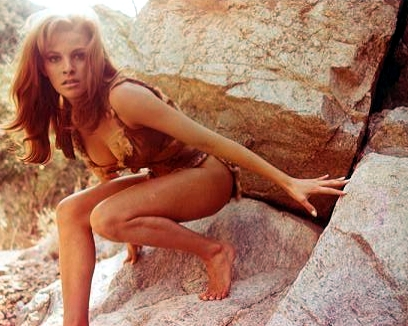 Raquel Welch - catched!