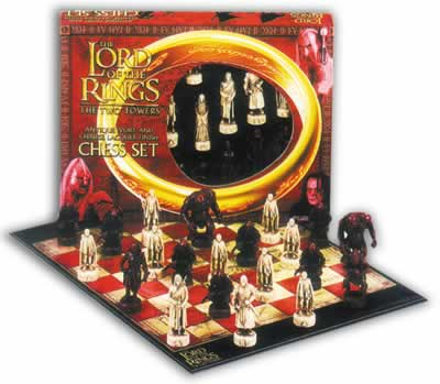 Lord Of The Rings 3D Chess