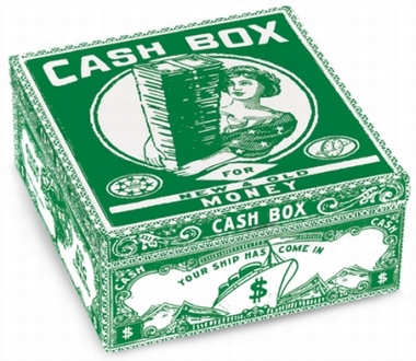 Blechbox Cash Box