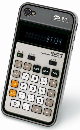 Taschenrechner Iphone4 Cover
