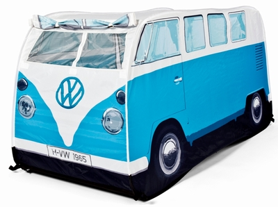 vw bus zelt f r kinder bulli blau volkswagen pr sentiert. Black Bedroom Furniture Sets. Home Design Ideas
