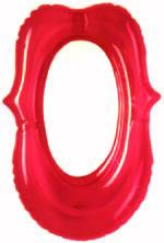 Lippen Spiegel - rot