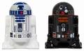 Star Wars - Salz & Pfeffer Streuer - R2-D2 & R2-Q5