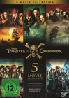 Pirates of the Caribbean 1-5 Box [5 DVDs]