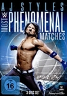 AJ Styles - Most Phenomenal Matches [3 DVDs]