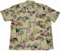 Original Hawaiihemd - Orchid Bamboo Yellow - Paradise Found