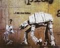 Banksy Kunstdruck I Am Your Father Star Wars
