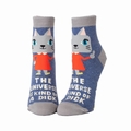 Damensöckchen Blue Q- The Universe Is A Dick