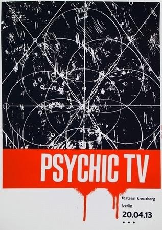 Psychic TV Poster - Gfeller & Hellsgård