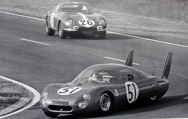 24 Hour Race Le Mans 1966 Poster