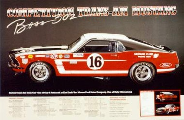 US-Import Ford Trans-AM Mustang Competition