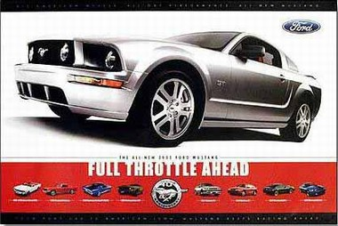 Ford Mustang - Full Throttle Ahead