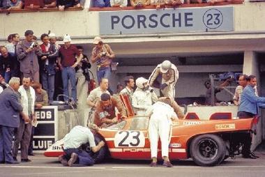 Salzburg Porsche 23 - 1970 Le Mans