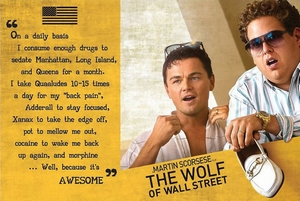 The Wolf of Wall Street Poster Awesome
