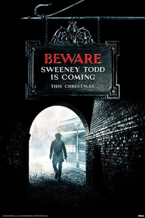 Sweeney Todd: The Demon Barber of Fleet Street - Poster