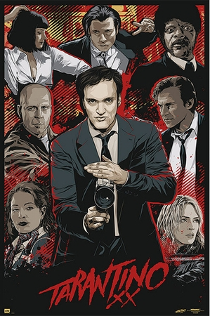 Tarantino XX Poster Movie Artwork