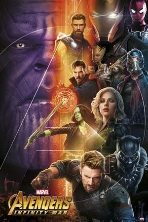 Avengers Infinity War Poster Charaktere 1