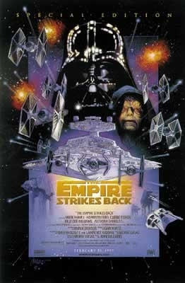 Empire Strikes Back - Star Wars - Poster