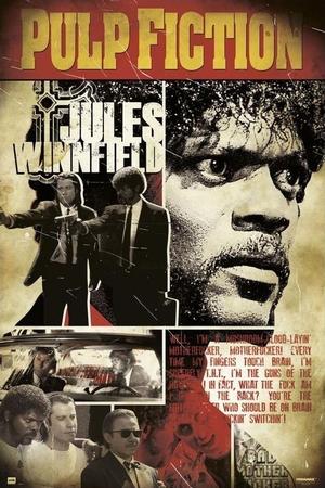 Pulp Fiction Poster Jules Winnfield
