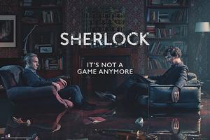 Sherlock Poster Rising Tide