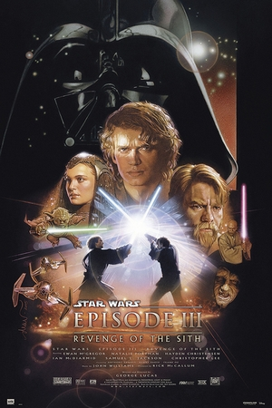 Star Wars Poster Episode 3 Revenge of the Sith
