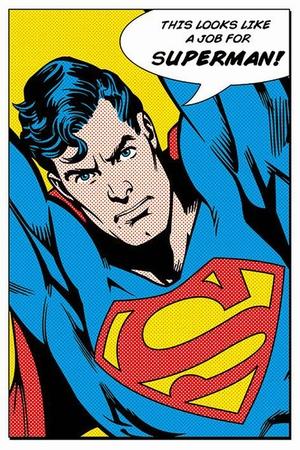 Superman Poster Looks Like a Job For Superman!