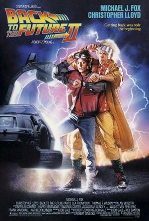 Zurück in die Zukunft II Poster