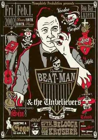Plakat Reverend Beat-Man