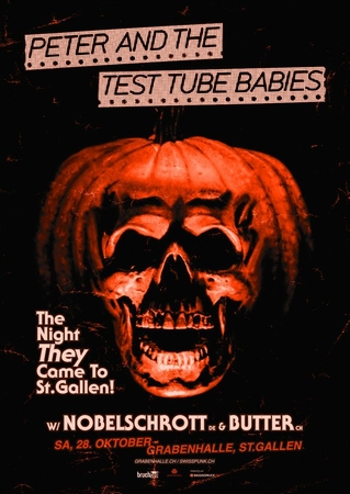 PETER AND THE TEST TUBE BABIES Plakat