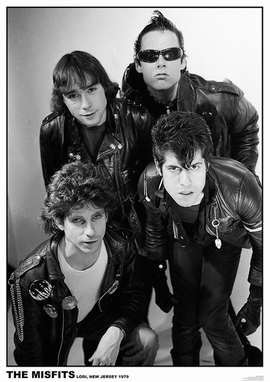 The Misfits Poster Lodi, New Jersey 1979