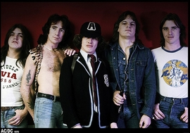 AC/DC Poster 1976