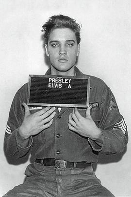 Elvis Presley Poster Mugshot Polizeifoto