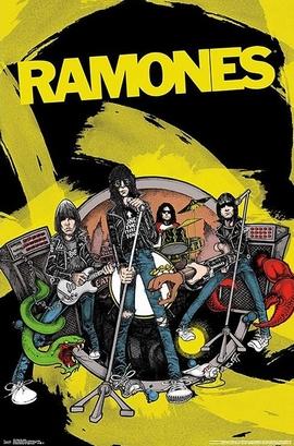 Ramones Poster Comic