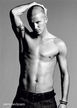 David Beckham - Poster