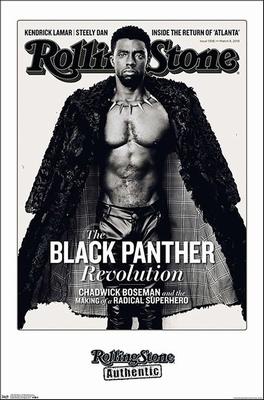 Chadwick Boseman Poster Rolling Stone, Black Panther
