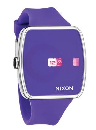 THE IRIS - Purple - Nixon Uhr