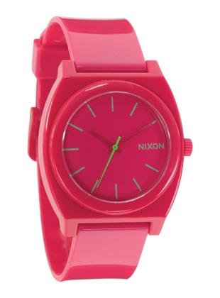 THE TIME TELLER P - Rubine - Nixon Uhr